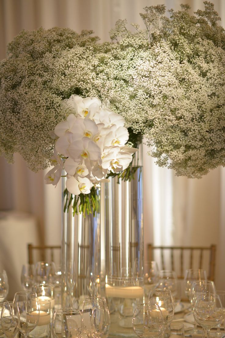 22 best babies breath wedding images on pinterest weddings floral tablescape floral centerpiece baby s breath izmirmasajfo