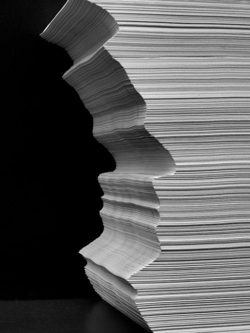 Cut out: Paper-Self, 2012 by Abelardo Morell