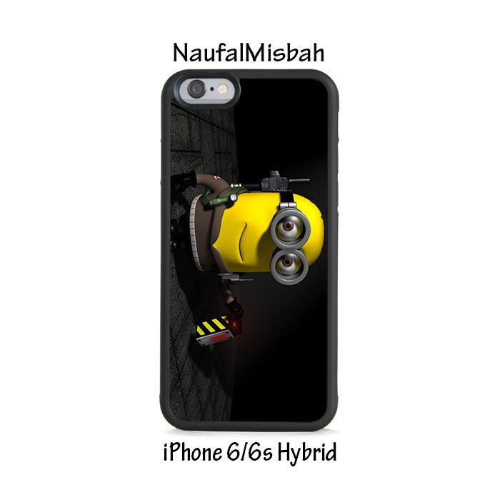 Ghost Buster Despicable Me Minion iPhone 6/6s HYBRID Case Cover