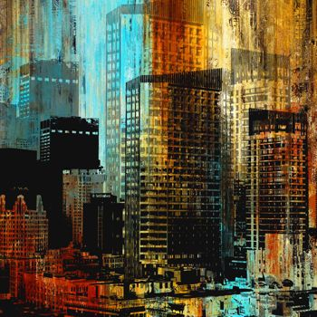 Costco: City Art VI by Jean-Francois Dupuis (4.5 ft. x 4.5 ft.)