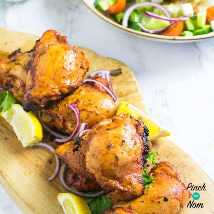 Syn Free Cajun Chicken Thighs | Slimming World