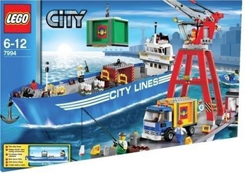 Free EMS shipping LEGO 7994 Bland New in box Lego City Harbour 7994  #LEGO