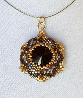 Reversible Bead Jewelry Pendant Series One