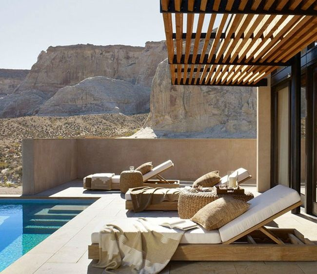 Outdoor Spaces : Desert Modern