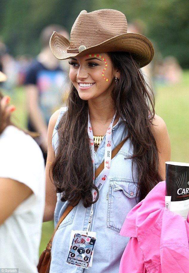 Happy days: Michelle Keegan is reportedly back with ex boyfriend Brad Howard, and has left Max George feeling gutted