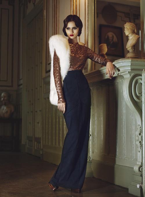 via sisterwolf's tumblr - Turkish fashion by Simay Bülbül (minus the corpse, of course)