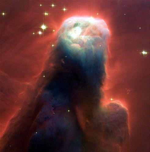 Foto's gemaakt door de Hubble-telescoop (© NASA/Reuters) De Konusnevel, M17