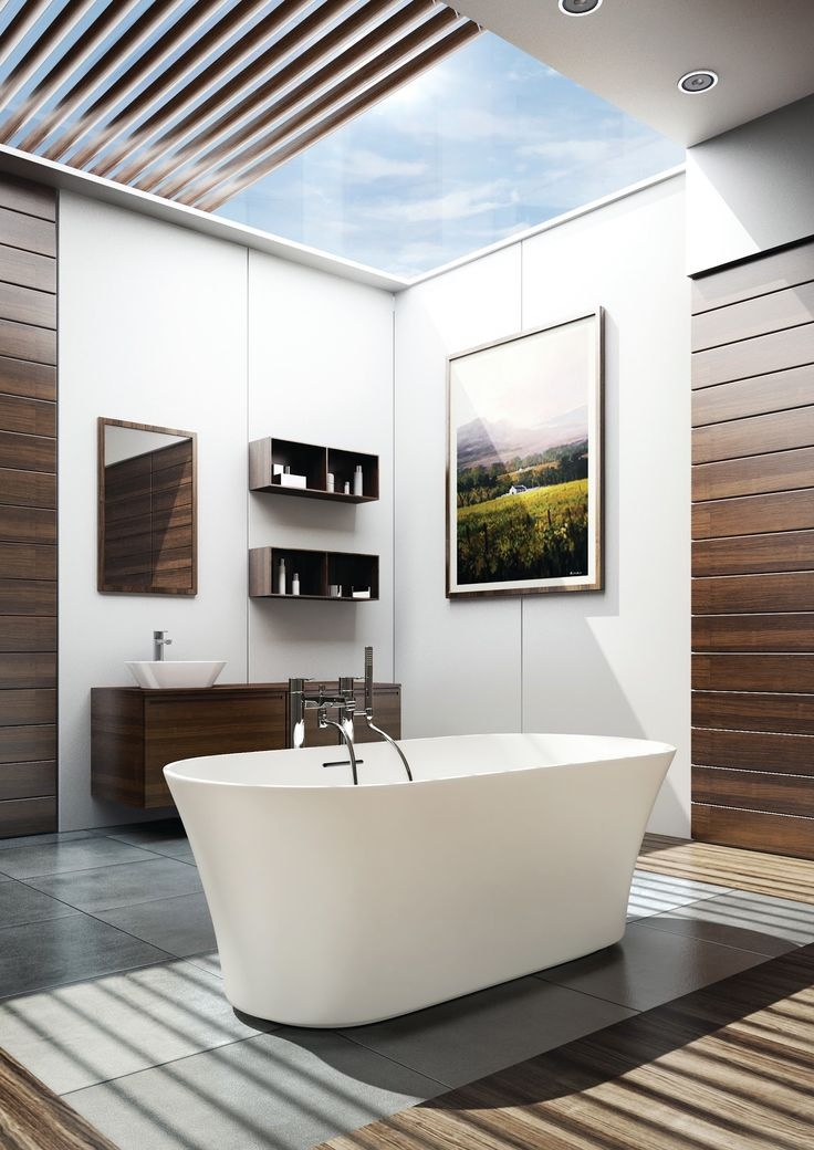 15 best Freestanding Tub Beauties images on Pinterest Bathtubs - badezimmer naturt amp ouml ne