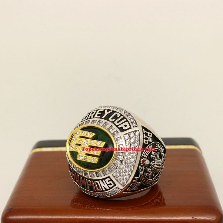 2015 Edmonton Eskimos CFL Grey Cup Football Championship Ring