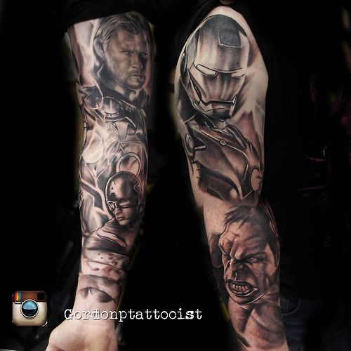 Gordon Patterson Honest Ink Musselburgh #inked #tattoo