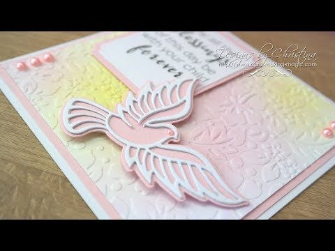 Die Cutting Essentials 28 (DCE28) Tonic Studios - Peace Dove - YouTube
