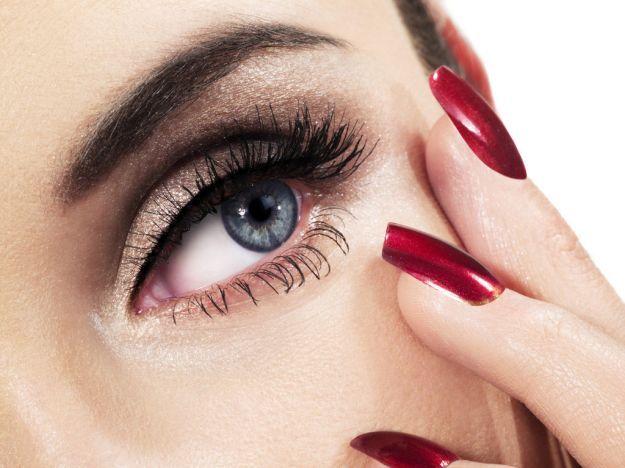 Изящный макияж для серых глаз ::: onelady.ru ::: #makeup #eyes #eyemakeup