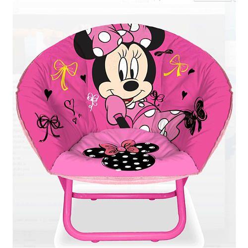Idea Nuova 23 inch Mini Saucer Chair - Disney Minnie Mouse
