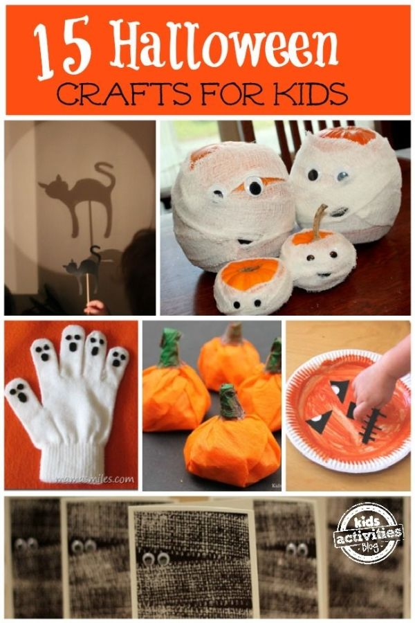 Halloween crafts for kids by Lee Ann Swift
