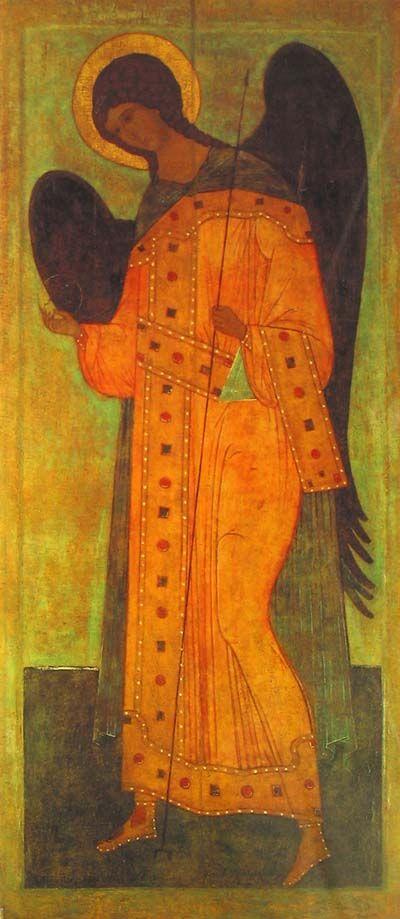 Archangel Gabriel icon, 16th century
