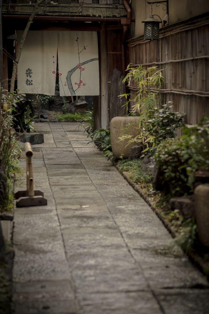京都の料理旅館『幾松』