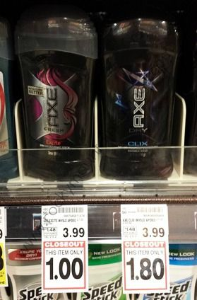 FREE Axe Deodorant @ King Soopers!!