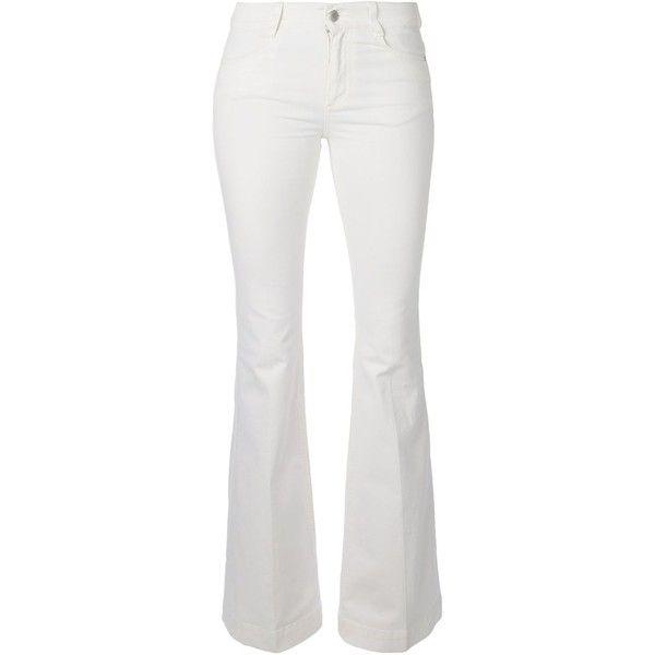 Stella McCartney '70's Flare' jeans found on Polyvore