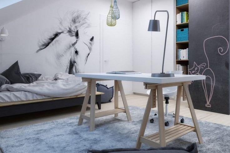 kinderzimmer einrichten moderne wandgestaltung mit. Black Bedroom Furniture Sets. Home Design Ideas