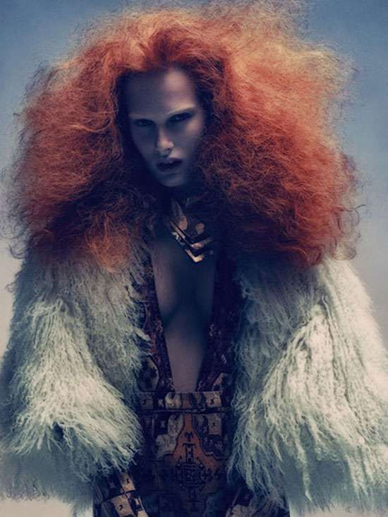 Big Orange coifs #hairstyles