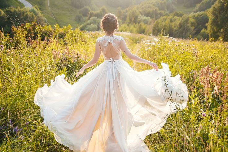 Vesssna Wedding — 2015 — Кружевное свадебное платье из коллекции Воздух — 2 (2)