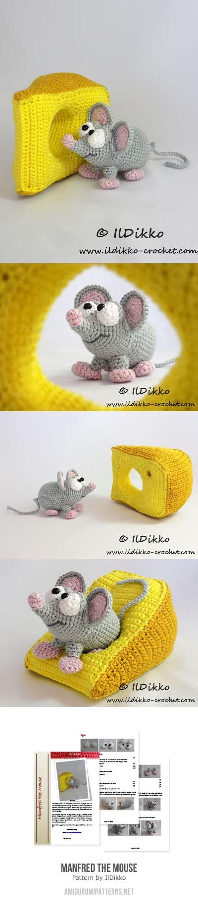Manfred The Mouse Amigurumi Pattern