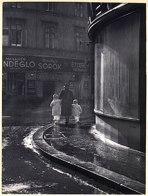 Járai Rudolf - Tavaszi zápor (V., Sütő u. - Kamermayer u. sarok) 1940,