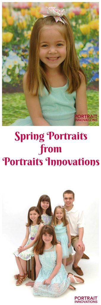 Spring Photos with Portrait Innovations--great deal and contest too!