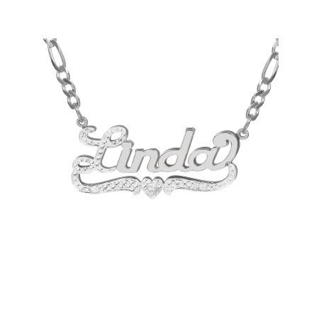 4eeb0fc5ba63d Personalized Sterling Silver, Gold Plated, 10k or 14k Nameplate ...