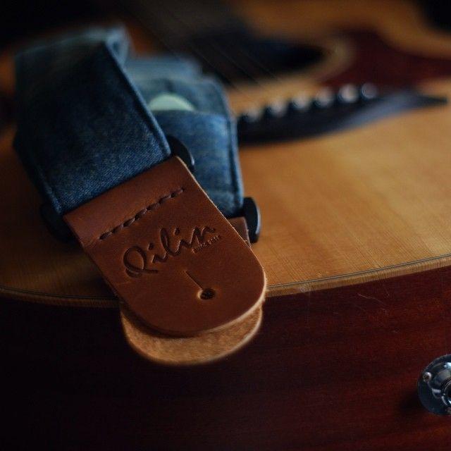 #Qilin#Guitarstrap#Strap#musician#Handmade#Jeans