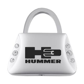 Hummer H3 Jeweled Purse Keychain