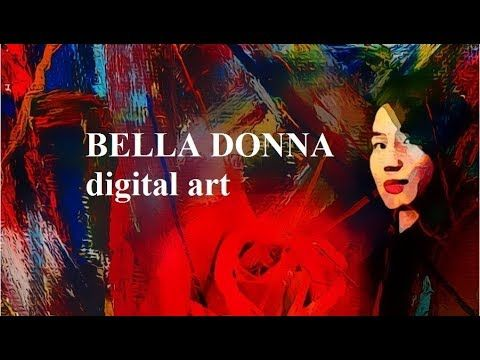 BELLA DONNA digital art
