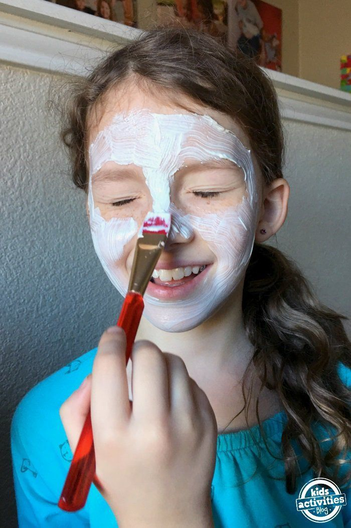Have a fun spa day at home with these kid-safe mud masks.