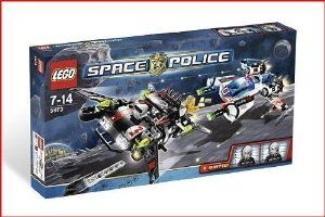 Lego Space Police Hyperspeed Pursuit Style# 5973 by LEGO. $51.95. 100% Authentic. polyester. .. Durable. Brand New. Lego Space Police Hyperspeed Pursuit Style# 5973
