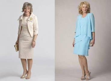 trajes elegantes para señoras