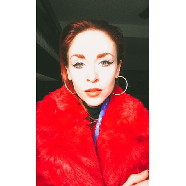 Sundance Selfie. Rob said its very red. Thank you @sundanceorg @g7marketing @sortednoise for having us  @thefoxiesmusic  be a part of something so cold and white and awesome.          #thefoxies #music #sundance #sundancefilmfestival #film #punk #fur #red #fashion #model #snow #winter #cool #rad #ootd #instagood #instafit #spotify #itunes #vevo