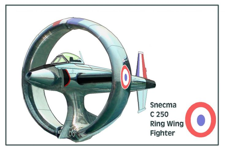 Snecma C 250 Ring Wing Fighter | Aviation | Airplane ...