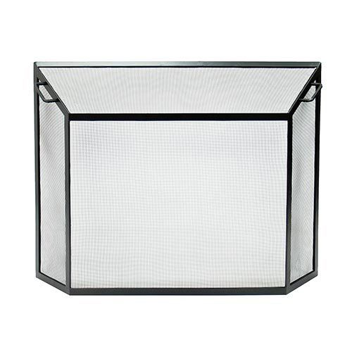 Minuteman International Contemporary Fireplace Screen - 50 x 36 in. from hayneedle.com, Sale $180.11