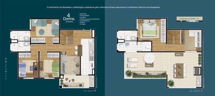 Apartamento 4 dorms. Duplex