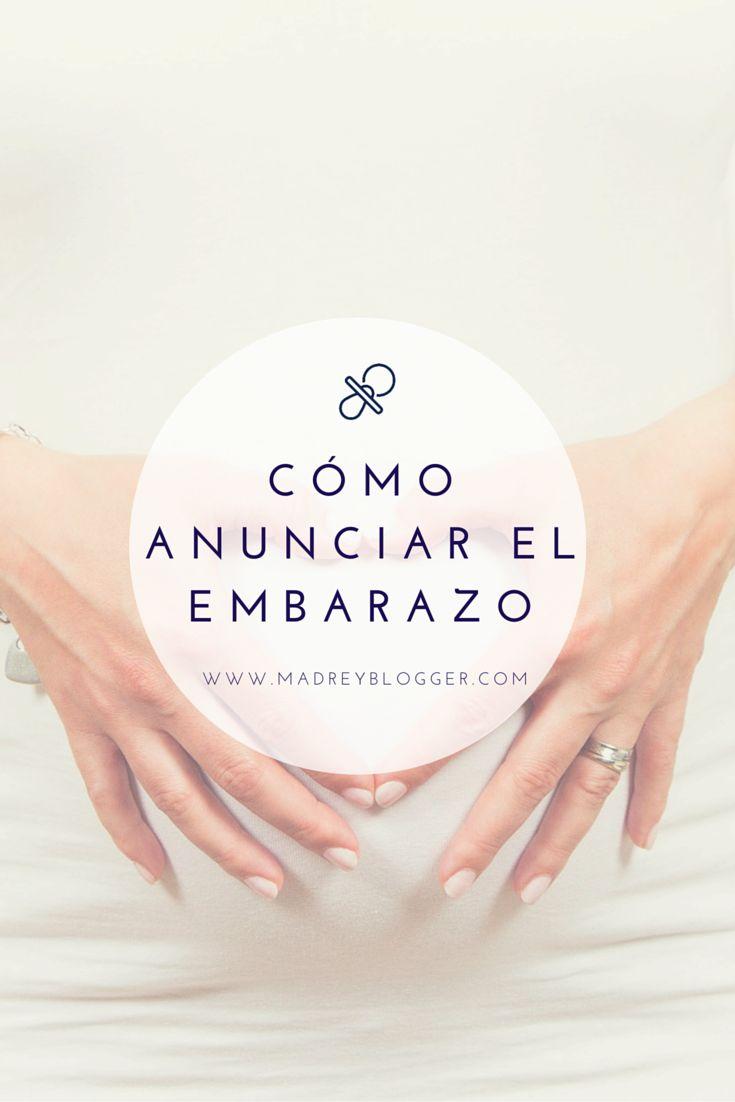 Ideas para anunciar el embarazo en www.madreyblogger.com