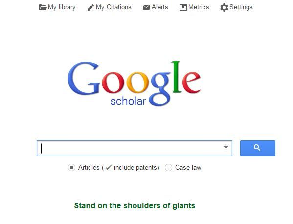 20 Websites College Students Need to Know. Next time you're writing a research paper check out Google Scholar. It's the literal Google of scholarly articles.
