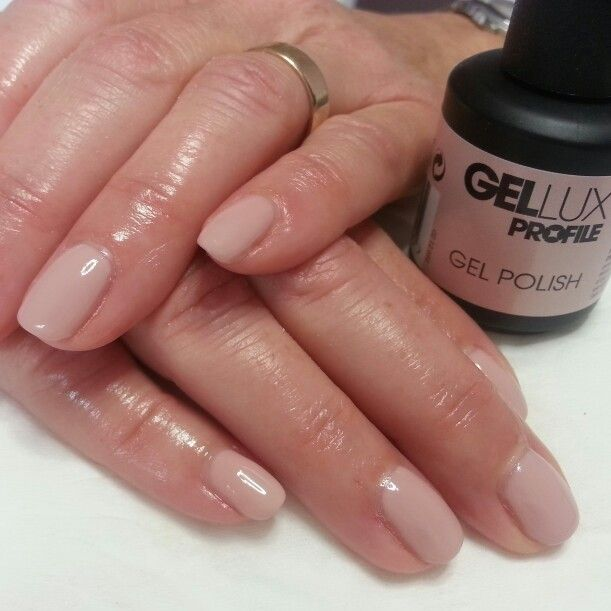 Gellux gel overlays nude colour | My nails | Pinterest ...