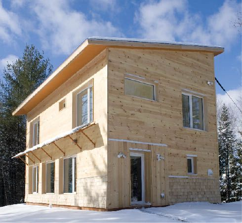 Jlc online article view an affordable passive house for Moderni piani solari passivi
