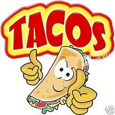 """Tacos de 14 """"Taco Restaurante Mexicano concesión camión de comida móvil Cocina"""