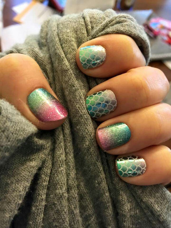 Mermaid Tales/Carnival ♡ Jamberry Nails                                                                                                                                                     More