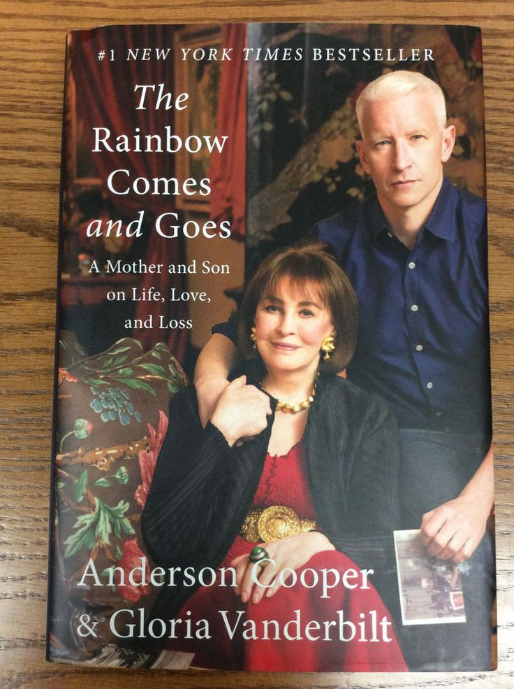 The Rainbow Comes and Goes Anderson Cooper Gloria Vanderbilt 1st Ed Mother Son #General