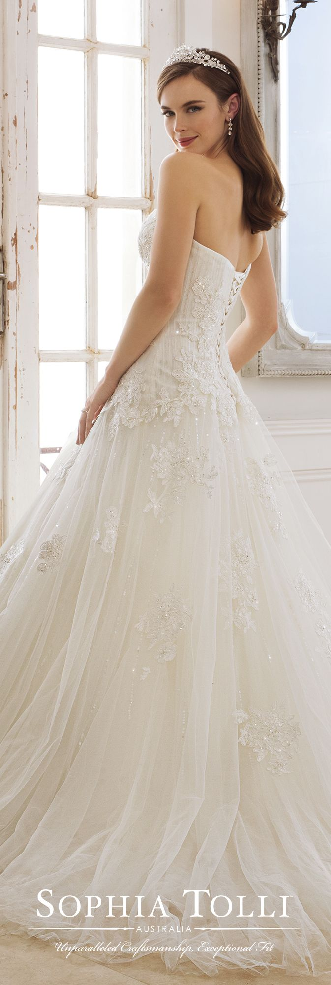 592 best Wedding Dresses by Sophia Tolli images on Pinterest ...