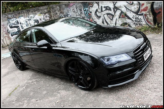 Audi A7 - Blacked Out. Getting one when I get out of college.
