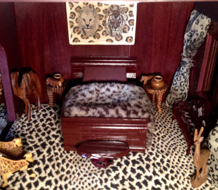 African themed bedroom
