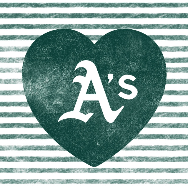 I love my Oakland A's. tomorrow  IS SUCH A HUGE GAME
